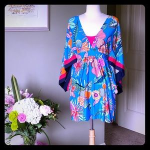 Trina Turk 🌴Tahiti Tropical 🌴 Dress/Cover Up